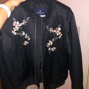 AE stitched bomber jacket